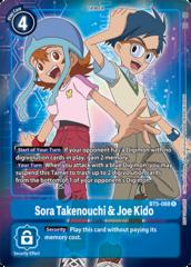Sora Takenouchi & Joe Kido - BT5-088 - R - Box Topper