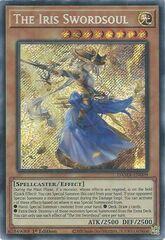 The Iris Swordsoul - DAMA-EN009 - Secret Rare - 1st Edition