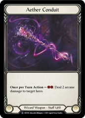Aether Conduit - Rainbow Foil - Unlimited Edition