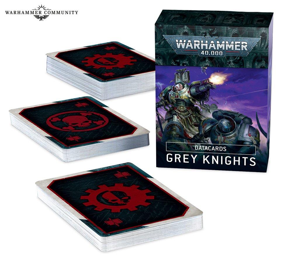 Datacards: Grey Knights (English)