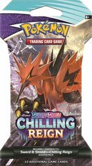 Sword & Shield - Chilling Reign Sleeved Booster Pack - Galarian Zapdos V