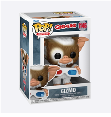 Movie Series - #1146 - Gizmo With 3D Glasses (Gremlins)