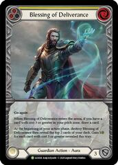 Blessing of Deliverance (Yellow) - Rainbow Foil (Extended Art)