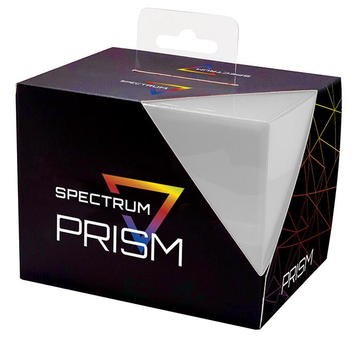 Prism Deck Case:  Pale Moon White