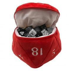Ultra Pro - D20 Plush Dice Bag - Red