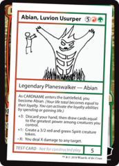 Abian, Luvion Usurper (No PW Symbol)