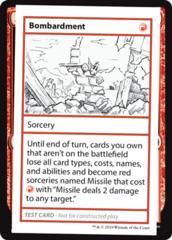 Bombardment (No PW Symbol)