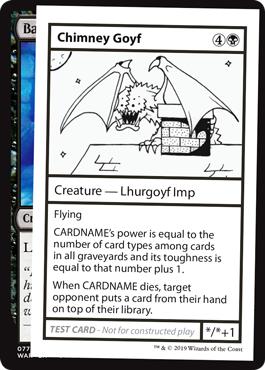 Chimney Goyf (No PW Symbol)
