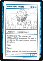 Innocuous Insect (No PW Symbol)