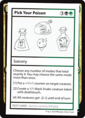 Pick Your Poison (No PW Symbol)