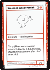 Seasoned Weaponsmith (No PW Symbol)