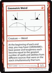 Geometric Weird (No PW Symbol)