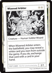 Wizened Arbiter (No PW Symbol)