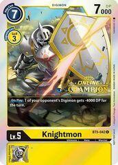 Knightmon - BT5-042 - P (2021 Championship Online Regional) [Online Champion]
