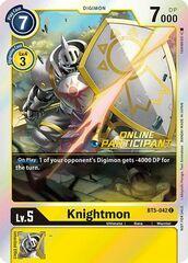 Knightmon - BT5-042 - P (2021 Championship Online Regional) [Online Participant]