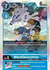 WereGarurumon - P-008 - P (2021 Championship Online Regional) [Online Champion]