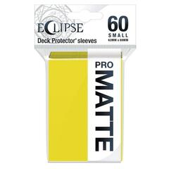 Ultra Pro: Eclipse PRO-Matte Small Deck Protector Sleeves 60ct - Yellow