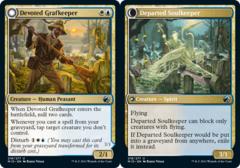 Devoted Grafkeeper // Departed Soulkeeper