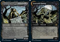 Graveyard Trespasser // Graveyard Glutton - Showcase