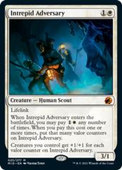 Intrepid Adversary - Foil