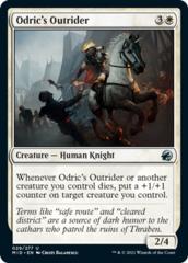 Odric's Outrider - Foil
