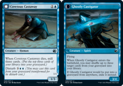 Covetous Castaway // Ghostly Castigator - Foil