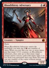 Bloodthirsty Adversary - Foil