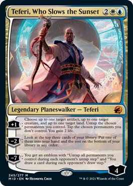 Teferi, Who Slows the Sunset - Foil