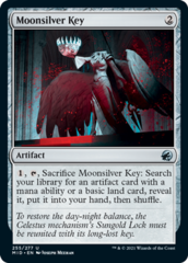 Moonsilver Key - Foil