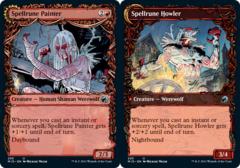 Spellrune Painter // Spellrune Howler - Foil - Showcase