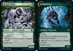 Hound Tamer // Untamed Pup - Foil - Showcase