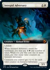 Intrepid Adversary - Foil - Extended Art