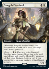 Sungold Sentinel - Extended Art