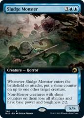 Sludge Monster - Foil - Extended Art