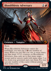 Bloodthirsty Adversary - Foil - Extended Art