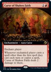 Curse of Shaken Faith - Extended Art