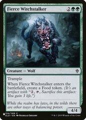 Fierce Witchstalker - The List