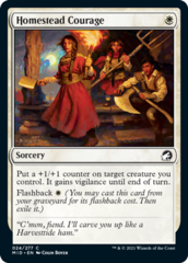 Homestead Courage - Foil