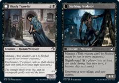 Shady Traveler // Stalking Predator - Foil