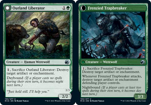 Outland Liberator // Frenzied Trapbreaker