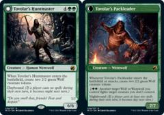 Tovolar's Huntmaster // Tovolar's Packleader - Foil