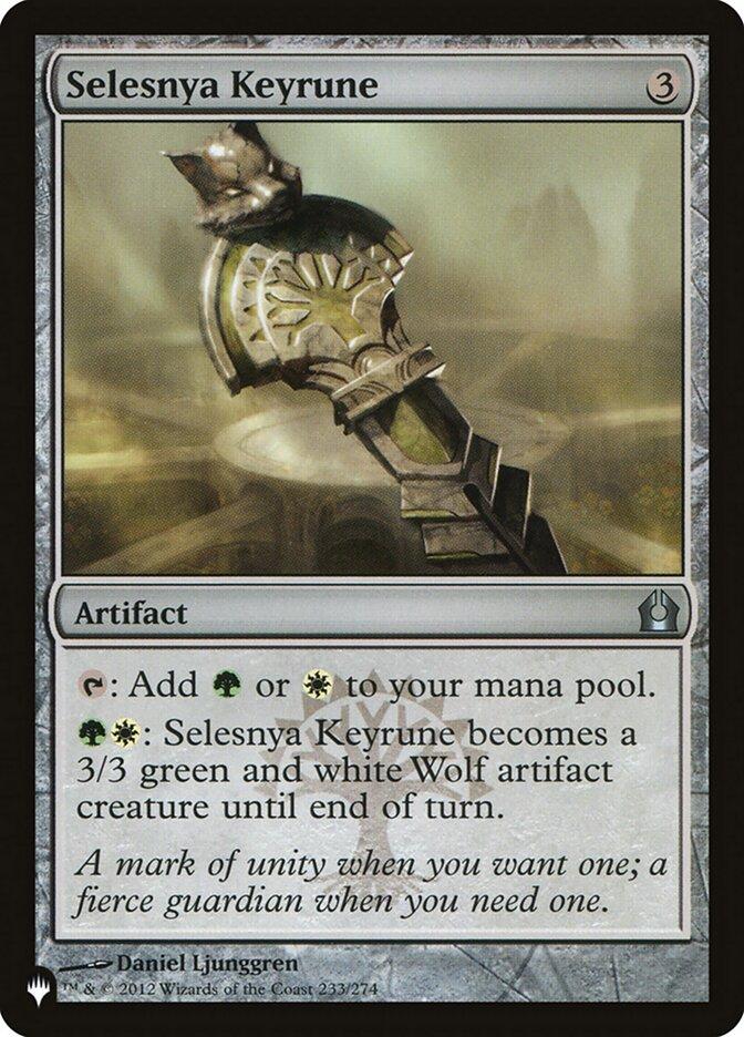 Selesnya Keyrune - The List