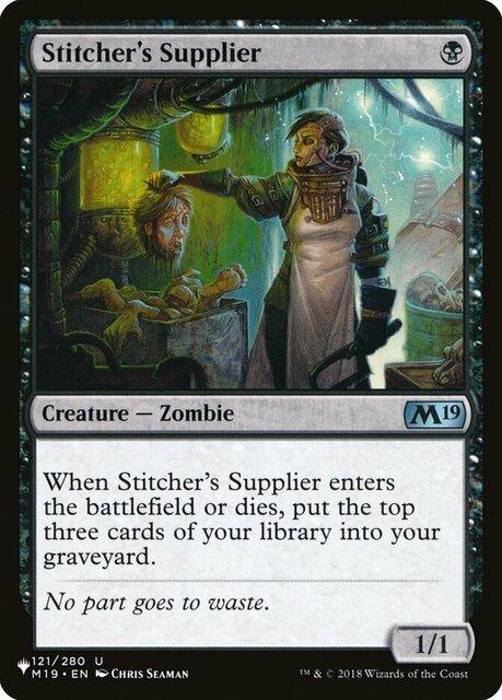 Stitchers Supplier - The List