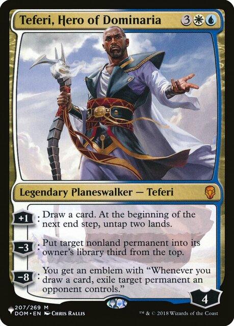 Teferi, Hero of Dominaria - The List