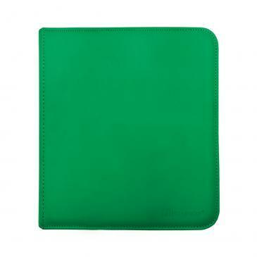 Ultra Pro 12-Pocket Zippered PRO-Binder - Green