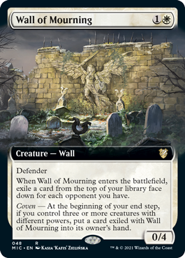Wall of Mourning - Extended Art