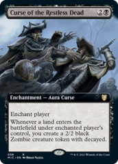 Curse of the Restless Dread - Extended Art