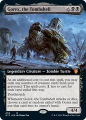 Gorex, the Tombshell - Extended Art