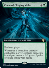 Curse of Clinging Webs - Extended Art