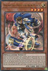 Dogmatika Theo, the Iron Punch - MP21-EN102 - Ultra Rare - 1st Edition